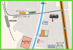 ロボ団 名古屋神宮前校 最寄図